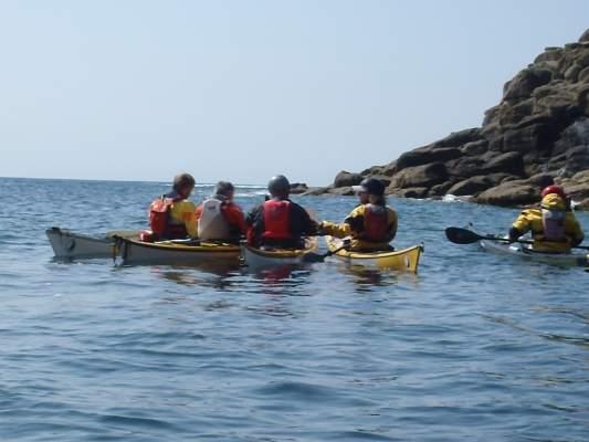 Sea Kayaking Porthgwara