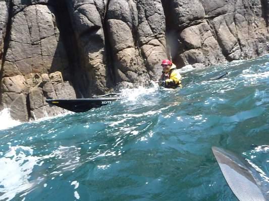 Kayaking to Lands End