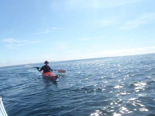 Sea Kayaking from Mousehole