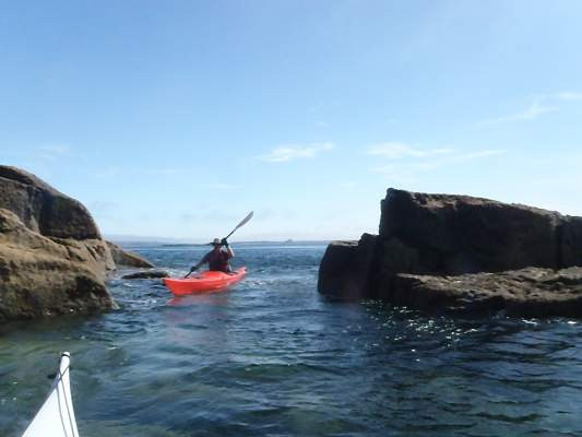 Calm water Sea Kayaking
